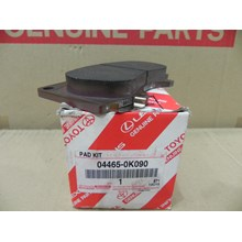 PAD KIT FR DISC BRK 04465-0K090