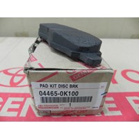 PAD KIT DISC BRK 04465-0K100