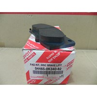 PAD KIT DISC BRK FR 04465-0K340-82