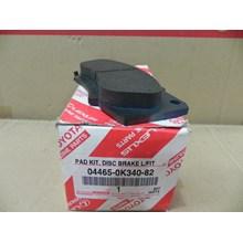 PAD KIT DISC BRK FR 04465-0K340-82