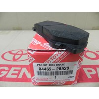 PAD KIT DISC BRAKE FR 04465-28520