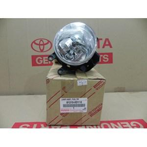 LAMP ASSY FOG RH 81210-0D110