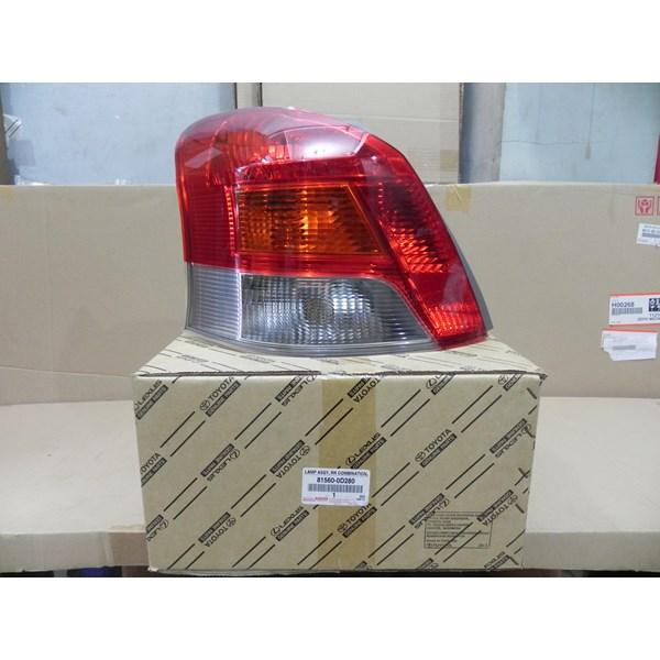 LAMP ASSY RR COMB LH 81560-0D280
