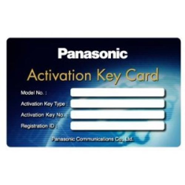 Panasonic Activation Key Card Kx-Nsa010x