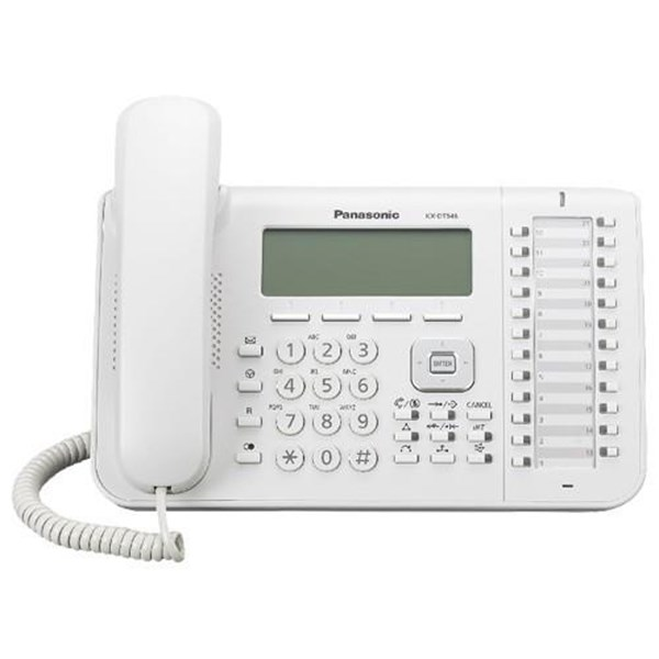Panasonic Digital Proprietary Telephone Kx-Dt546x - Putih