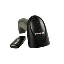 Solution Wireless Barcode Scanner Bs 201 - Hitam