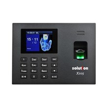 Solution Mesin Absensi & Aksess Door X105 - Hitam