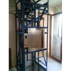 Pemasangan lift barang dan lift makanan harga berkawan