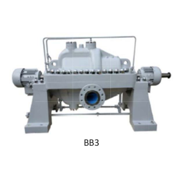 Pompa Centrifugal Multistage API 610 BB3