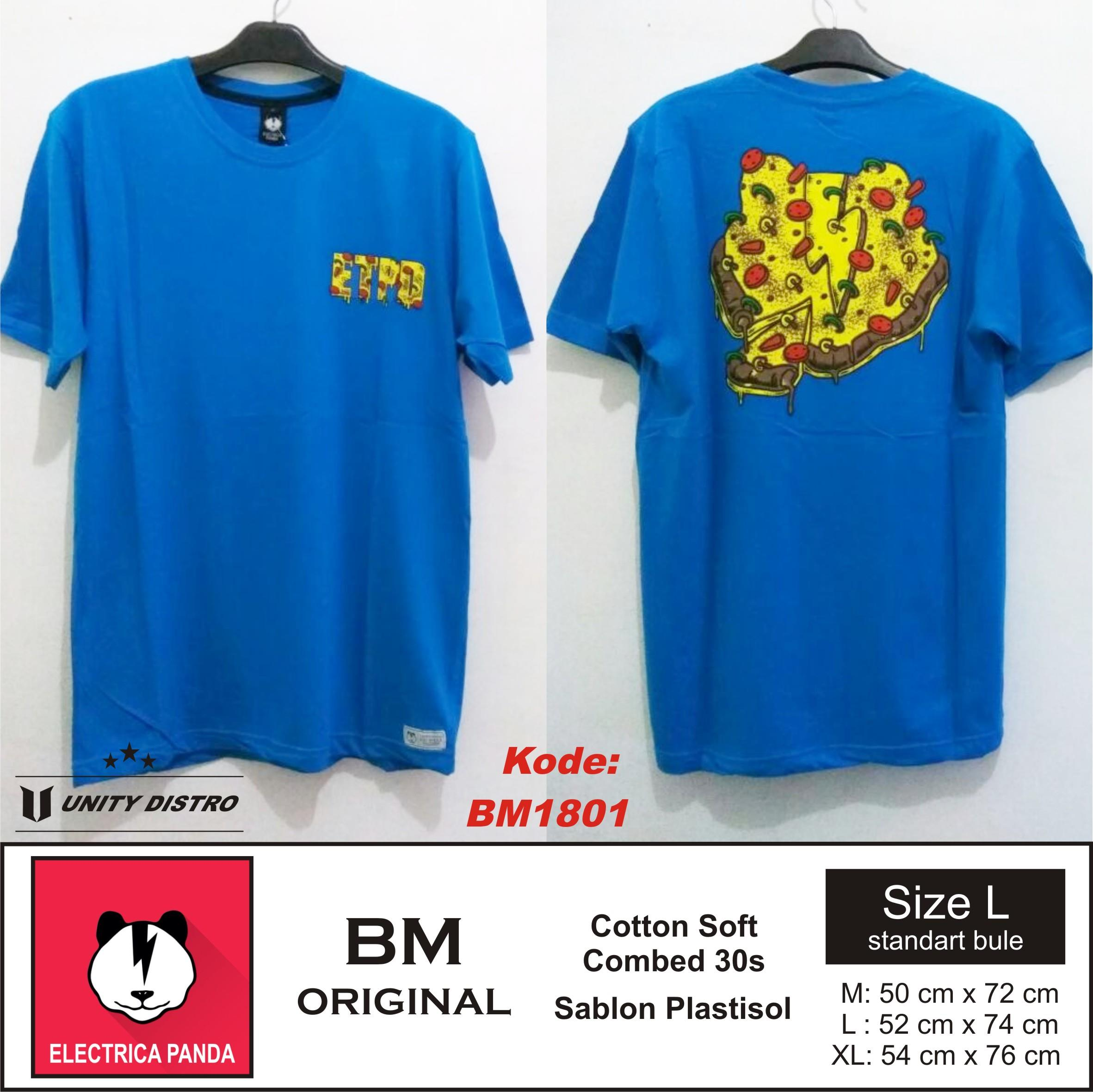 Sell Wholesale T Shirts Distro Bm Ori Or The Premium Electrica Grosis Kaos Cotton Combed Plastisol Bandung Panda From Indonesia By Unity Distrocheap Price