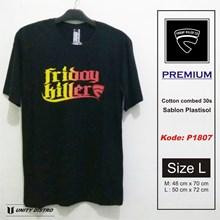 Grosir Kaos Distro Premium Friday Killer