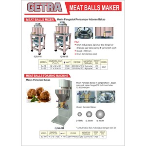 From Meat Balls Maker 0