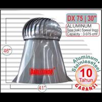 Jual Roof Turbin Ventilator Aluminum DX 75-30