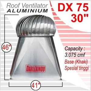 Dari Roof Turbin Ventilator Aluminum DX 75-30
