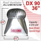 Ventilasi Aluminium DX 90-36