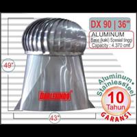Jual Ventilasi Aluminium DX 90-36