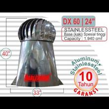 Roof Ventilator Stainless Steel DX 60-24