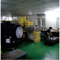 Water Cooling Fan - Motor Factory Application