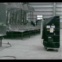 Water Cooling Fan- Shipbuilding Application