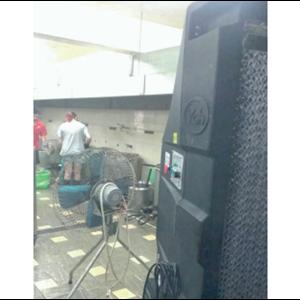 Water Cooling Fan- Kitchen Application