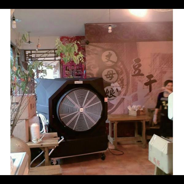 Water Cooling Fan- Restaurant Application