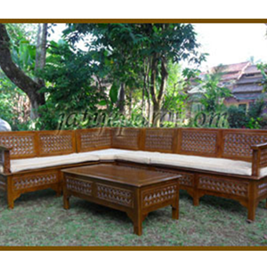Guest Chairs corner kawung