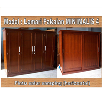 Lemari Pakaian Minimalis 4