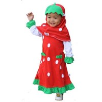 Jual Gamis Strawberry