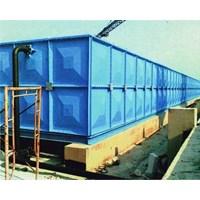 Distributor TANGKI PANEL FIBERGLASS 100 m3 (100 kubik) Kota Pangkal Pinang - Fiberglass Cloth 1