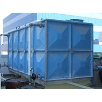 Distributor TANGKI PANEL FIBERGLASS 100 m3 (100 kubik)  Kota Denpasar - Fiberglass Cloth 1