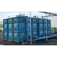 Distributor TANGKI PANEL FIBERGLASS 100 m3 (100 kubik)  Kota Palangkaraya - Fiberglass Cloth 1
