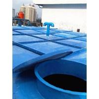 Distributor TANGKI PANEL FIBERGLASS 100 m3 (100 kubik)  Kota Sofifi - Fiberglass Cloth 1