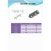 Jual SFU Zinc Stand - Off Mounted Anode