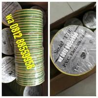 PVC electrical tape yellow green