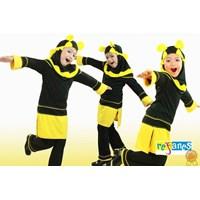 Baju Muslim Anak Karakter Lebah