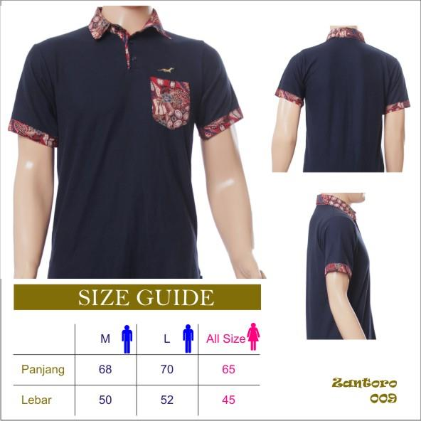 Sell T-shirt Polo Combination Modern Batik From Indonesia