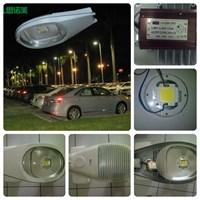 LAMPU PJU LED 40W DC AC ( Brigelux  Epistar )