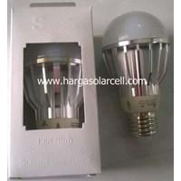 Lampu LED Bulb 12V 5W Model Fitting Untuk Solarcell Solar Panel