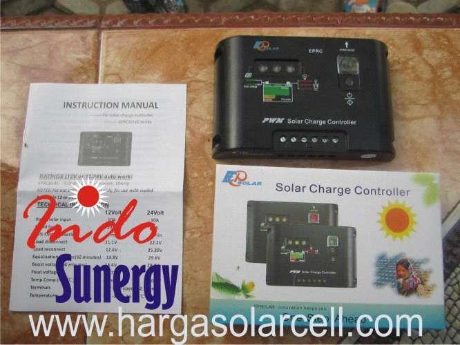 Jual Regulator Controller Solar Charges Merk EPSOLAR 12
