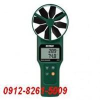Extech AN320 Large Vane CFM CMM Anemometer Psychrometer plus CO2  1