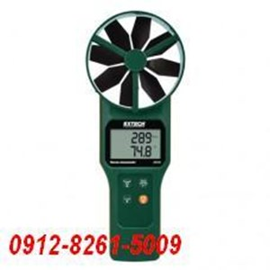 Extech AN320 Large Vane CFM CMM Anemometer Psychrometer plus CO2