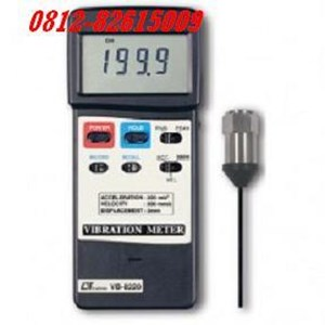 Lutron VB 8220 Vibration Meter Alat Ukur Getaran