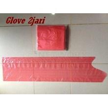 Plastic Glove 2 Jari Lokal Alat Peternakan