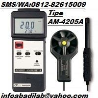Lutron AM-4205A/Humidity - Anemometer