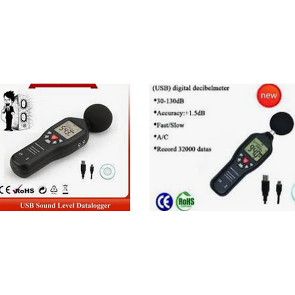 Sell Sound Level Meter w USB Data Logger - Measure Sound