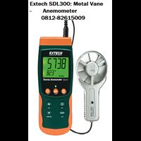 Extech SDL300: Metal Vane Thermo-/Datalogger Anemometer