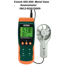 Extech SDL300: Metal Vane Thermo-/Datalogger Anemometer