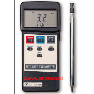 AM - 4204 Hot Wire Anemometer