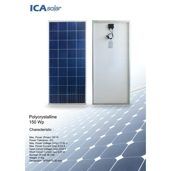 Solar Panel POLYCRYSTALLINE 150 WP ICA SOLAR