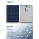 Panel Surya POLYCRYSTALLINE 200 WP ICA SOLAR 2